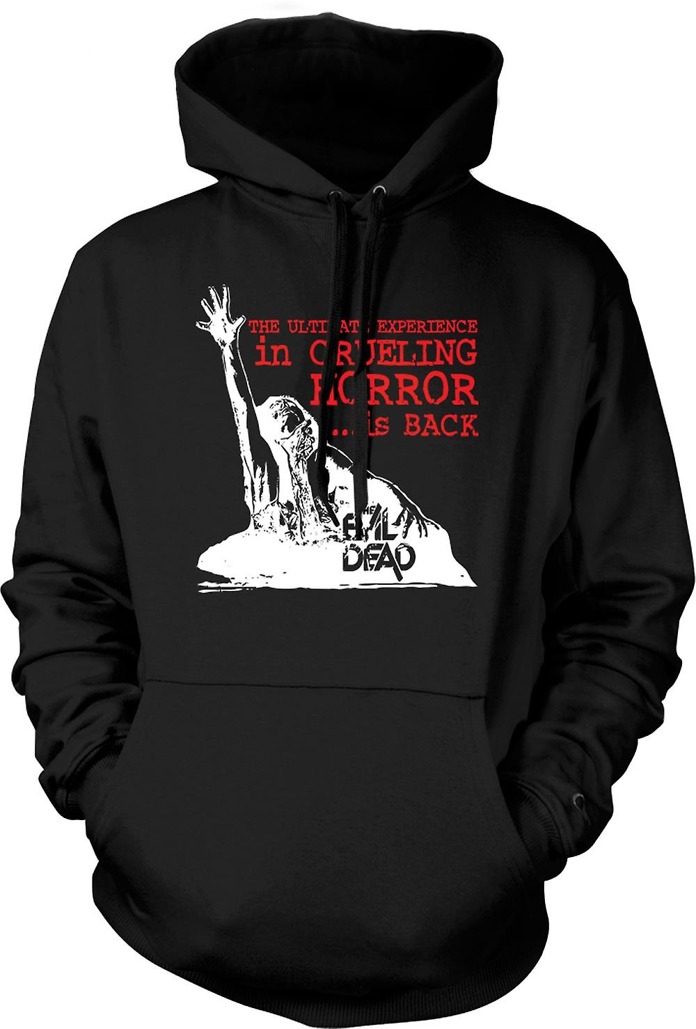 Mens Hoodie - The Evil Dead Cruel - Horror Movie