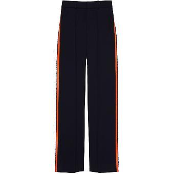 Victoria Victoria Beckham anteriore piega pantaloni sartoriali