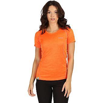 قميص تي نشطة سريعة قصيرة الأكمام الجافة صحاري النسائي سباق القوارب