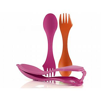Light My Fire Spork n Case (Orange/Fuchsia)