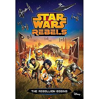 Star Wars Rebels, the Rebellion Begins (Junior Novelization)