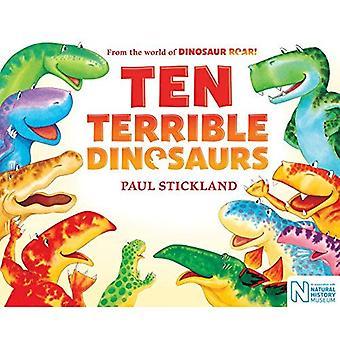 Dix terribles dinosaures [cartonné]