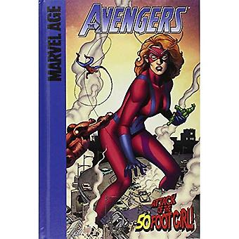 Attack of the 50 Foot Girl! (Marvel Age Avengers: Set 4)