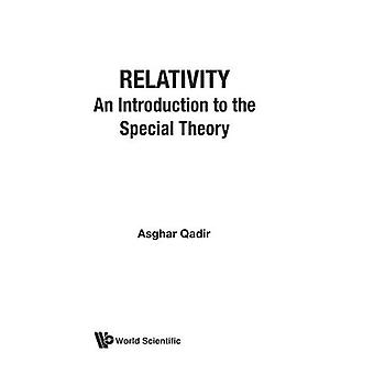 Relativity : An Introduction to the Special Theory