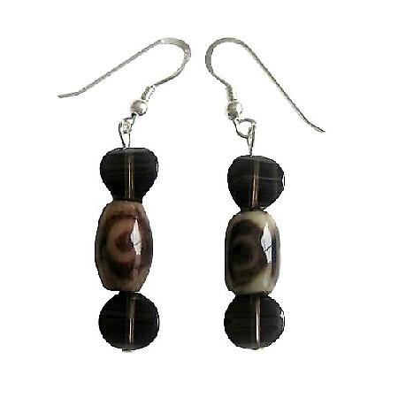 Tiger Eye Sterling Silver 92.5 Earrings