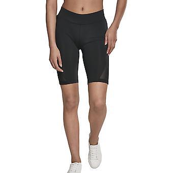 Urban classics ladies - CYCLE tech Mesh Shorts black