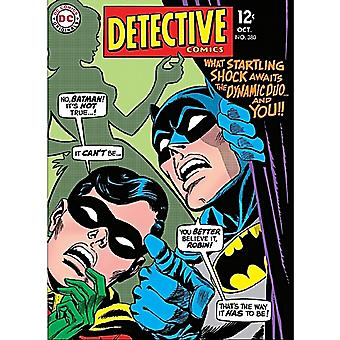 Batman Detective Comics Cover Metal Fridge Magnet    (hb)