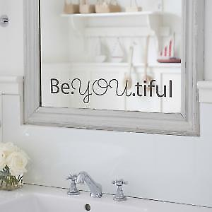 Beyoutiful-large Wall Sticker
