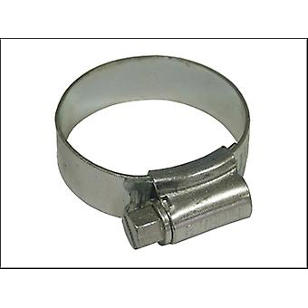 Faithfull 1A Hose Clip - Zinc MSZP 22 - 30mm