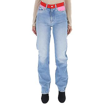 كالفن كلاين جينز الجينز الزرقاء الخفيفة