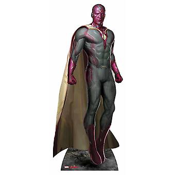 Vision Avengers Age of Ultron Marvel Lifesize Cardboard Cutout / Standee / Standup