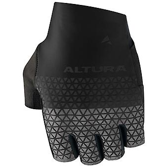 Altura Black-Charcoal 2019 Progel Fingerless Cycling Gloves