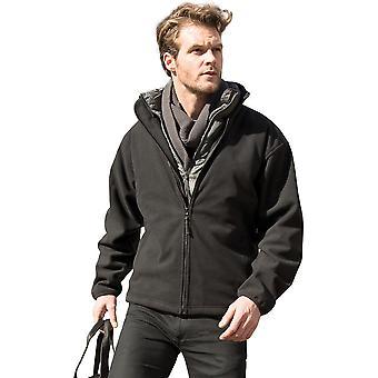 Outdoor Look Mens klimaat waterdichte winddichte Fleece jas
