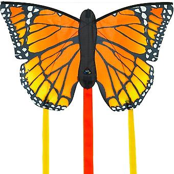 HQ Kites Monarch R Butterfly Kite   20 Inch Single - Line Kite with Tail - Active Outdoor Fun for Ages 5 and Up
