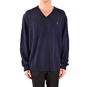 Ralph Lauren Blue Wool Sweater
