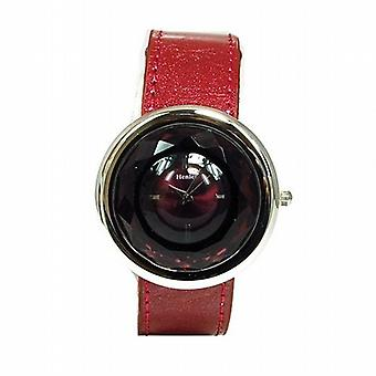Henley Glamour Plum Multi Faceted gesneden glas dames Fashion horloge H06021.10