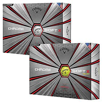 Callaway Golf Unisex 2019 Chrome SoftX Golf Balls