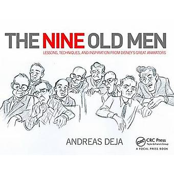 The Nine Old Men - Lessons - Techniques - and Inspiration from Disney'