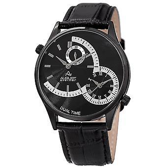 August Steiner Women's Quartz Matte Dial Bracelet Watch AS8010BK