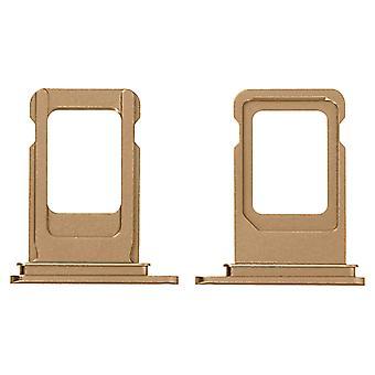 SIM Card Holder Apple iPhone XS Replacement Nano SIM Card Holder - Gold
