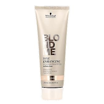 Schwarzkopf BlondMe Tone Enhancing Bonding Shampoo Warm Blondes 250ml