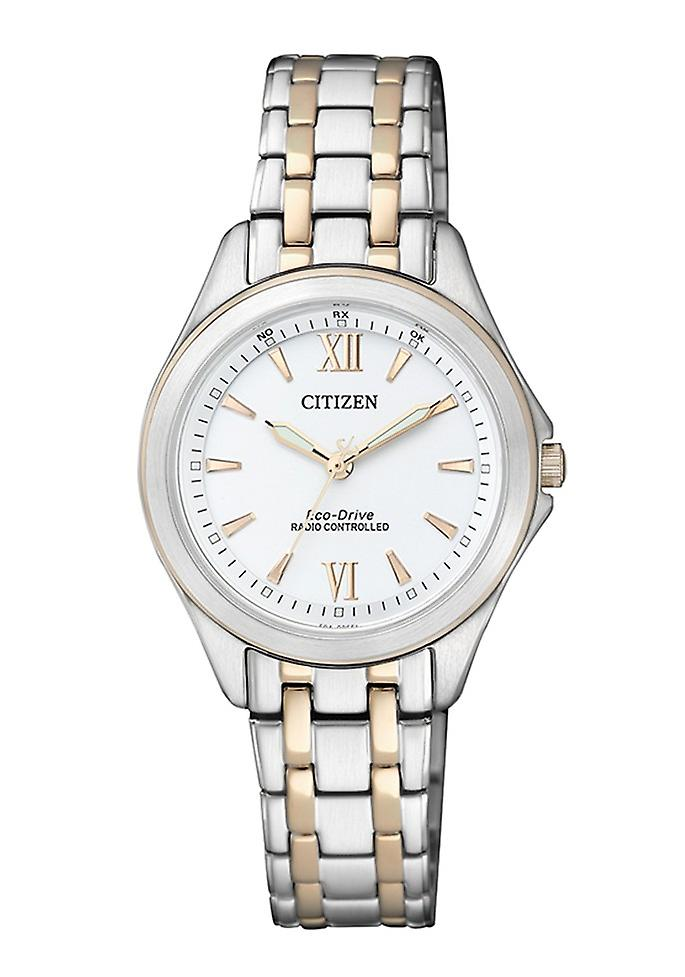 Citizen Eco Drive Damenuhr Funk (ES4024-52 a)