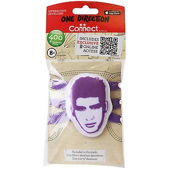 1d Fabric Shoelace Biter Zayn Purple One Direction