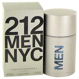 212 By Carolina Herrera Eau De Toilette Spray (new Packaging) 1.7 Oz (men) V728-414597