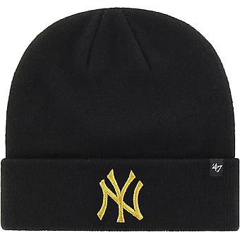 New York Yankees 47 brassard métallique Knit Beanie chapeau