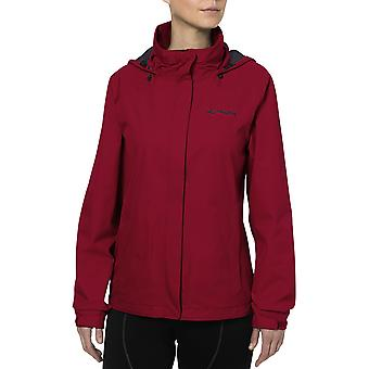 Vaude Women's Escape Bike Light Rain Jacket - Red