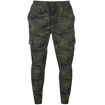 No Fear Mens Camo Cuffed Chinos Casual Bottoms Pants