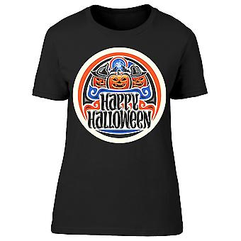 Halloween Holiday Logo Tee Women's -Image by Shutterstock