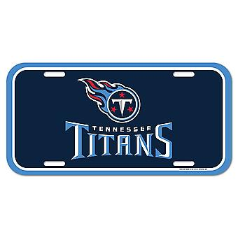 Wincraft NFL License Plate - Tennessee Titans