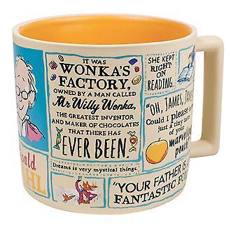 Mok-UPG-Dahl literaire 14oz koffie kopje New5394