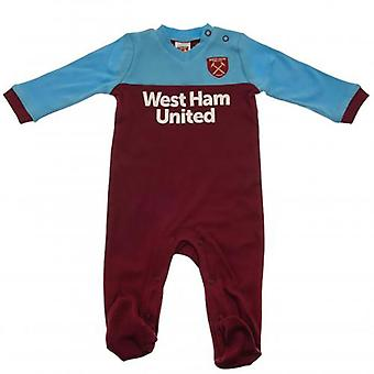 West Ham United Baby Kit Schlafanzug | Saison 2019/20