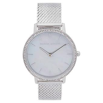 Rebecca Minkoff | Women's Major | Steel Mesh Bracelet | Mother Of Pearl Dial 2200367 Watch