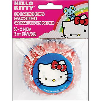 Baking Cups Hallo Kitty 50 Pkg-Standard W4157575