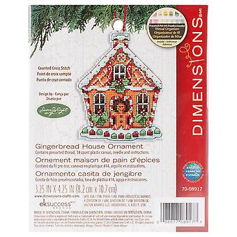 Susan Winget Gingerbread House Counted Cross Stitch Kit 3 1 4