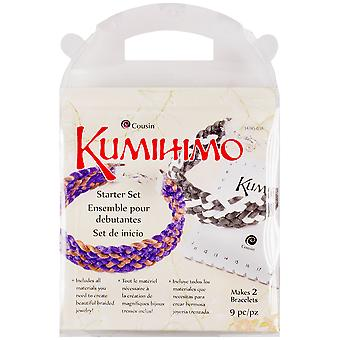 Kumihimo Starter Set Square 9Pcs 347450 38