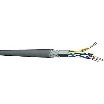 Network cable CAT 5e SF/UTP 4 x 2 x 0.20 mm² Grey