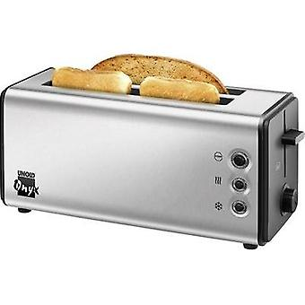 Twin long slot toaster corded Unold Onyx Duplex Stainless steel
