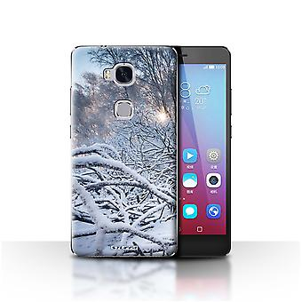 STUFF4 Case/Cover for Huawei Honor 5X/GR5/Branches/Twigs/Winter Season