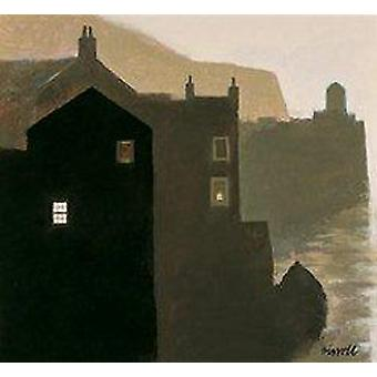 George Birrell afdrukken - Early Morning Haven
