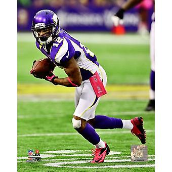 Percy Harvin 2012 Aktion Foto drucken (8 x 10)