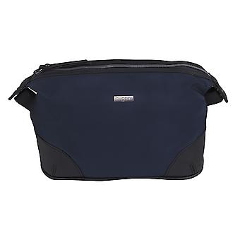 Bugatti washbag toiletry bag cosmetic bag blue 3836