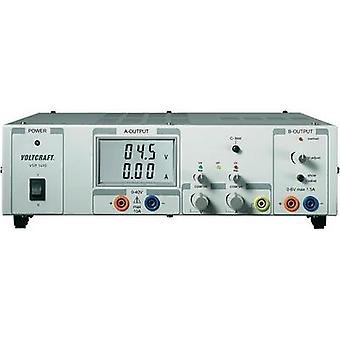 VOLTCRAFT VSP 1410, 409W 2 Output Remotely Controllable Variable DC Power Supply, Switched Mode, Sense Function, Bench