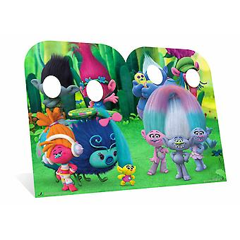 Trolls Can't Stop The Feeling Child Size Cardboard Cutout Stand-in - Twin Pack
