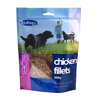 Hollings Chicken Fillets 100g (Pack of 8)