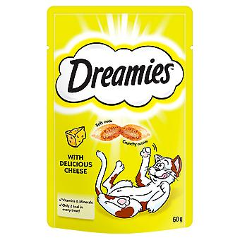 Dreamies Cheese 60g (Pack of 8)