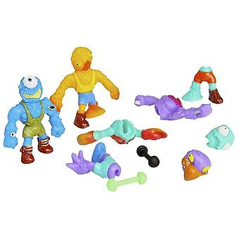 Giochi Preziosi Mutant Mania - Blister 4 Wrestlers (Toys , Action Figures , Dolls)